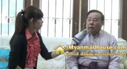 KM Construction Co.,Ltd မွ တာဝန္ရွိသူ ဦးၾကီးျမင့္ နွင့္ အင္တာဗ်ဳး - Property Interview from iMyanmarHouse.com
