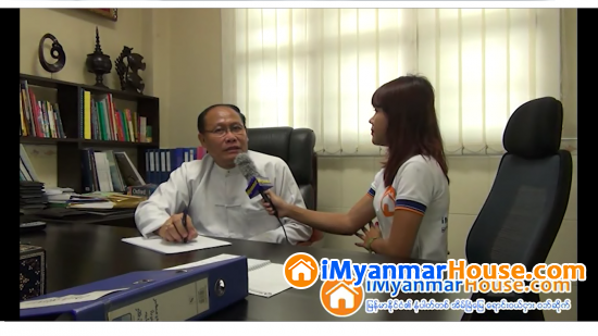 Trust & Gain Company Limited မွ Managing Director ဦးၾကည္ထြန္း ႏွင့္အင္တာဗ်ဴး - Property Interview from iMyanmarHouse.com