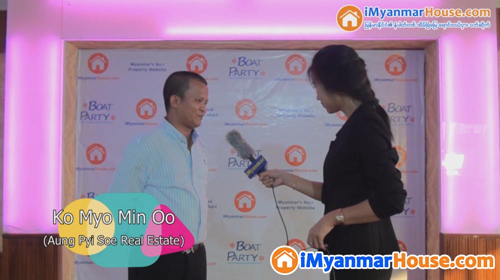 မြန်မာနိုင်ငံမှာ iMyanmarHouse က Top ပါလို့ Interview တွင်ဖြေကြားခဲ့တဲ့ အောင်ပြည်စိုး အိမ်ခြံမြေ အကျိုးဆောင် - Property Interview from iMyanmarHouse.com