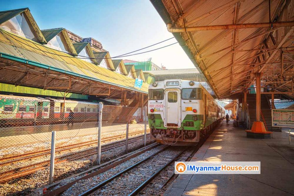 မြို့ပတ်ရထားလမ်းပိုင်းမှာပြေးဆွဲဖို့ ဂျပန်က ရထားတွဲတွေရောက်လာ - Property News in Myanmar from iMyanmarHouse.com