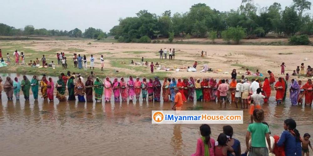 အိန္ဒိယတွင် covid-19 ကာကွယ်ရန် ကိုရိုနာမယ်တော်ကို ပူဇော်ပသလျက်ရှိ - Property News in Myanmar from iMyanmarHouse.com