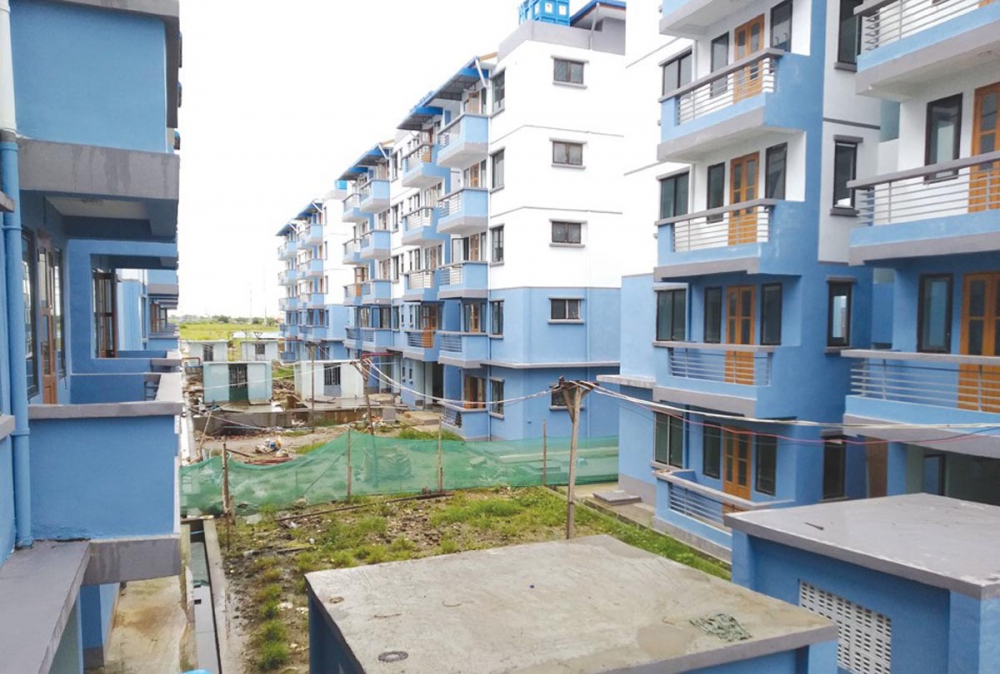 တည်ဆောက်ပြီးစီးပြီဖြစ်သည့် ဒဂုံဆိပ်ကမ်းမြို့နယ်မှ နိုင်ငံ့ဝန်ထမ်းအငှားအိမ်ရာ ယခုလ ၂၈ ရက်တွင်ဖွင့်လှစ်မည် - Property News in Myanmar from iMyanmarHouse.com