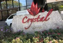 Crystal tower condo.🏢 ကြန္ဒိုေရာင္း/ငွါးမည္ 🏢