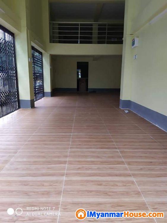 18×54ေပ ေျမညီထပ္ခိုးပါ စီးပြားေရးလုပ္ဆိုင္ဖြင့္ရန္ - ငွါးရန္ - ေတာင္ဥကၠလာပ (South Okkalapa) - ရန္ကုန္တိုင္းေဒသႀကီး (Yangon Region) - 4.50 သိန္း (က်ပ္) - R-17081114 | iMyanmarHouse.com