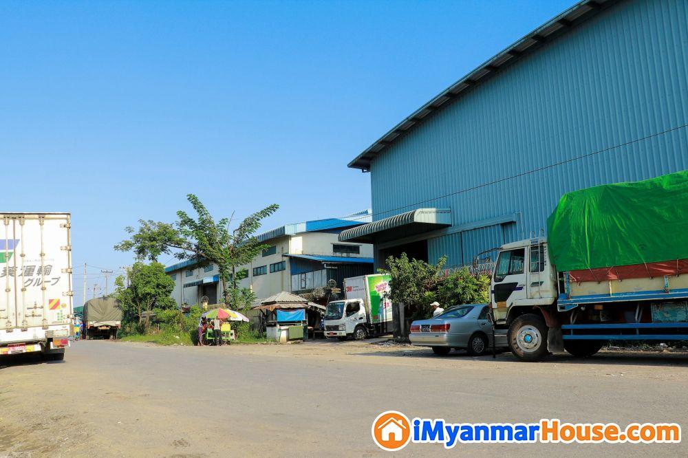 ဂိုဒေါင်ငှားရန်ရှိသည် (သာကေတစက်မှုဇုန်) - ငှါးရန် - သာကေတ (Thaketa) - ရန်ကုန်တိုင်းဒေသကြီး (Yangon Region) - 85 သိန်း (ကျပ်) - R-19161068 | iMyanmarHouse.com