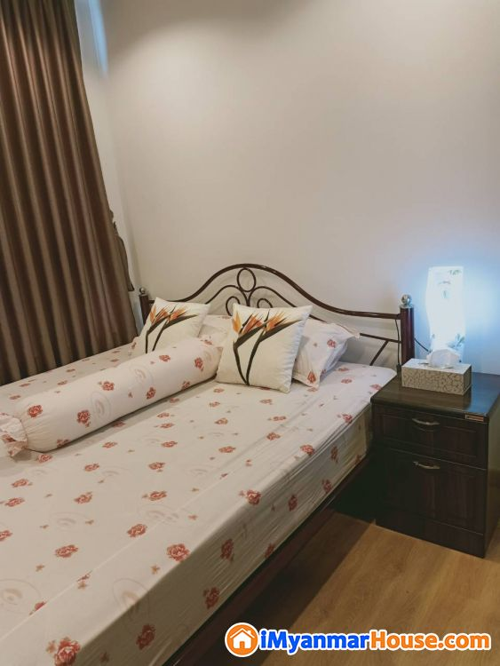 2 Bedrooms Unit is GEMS Condo Hlaing Township for Rent