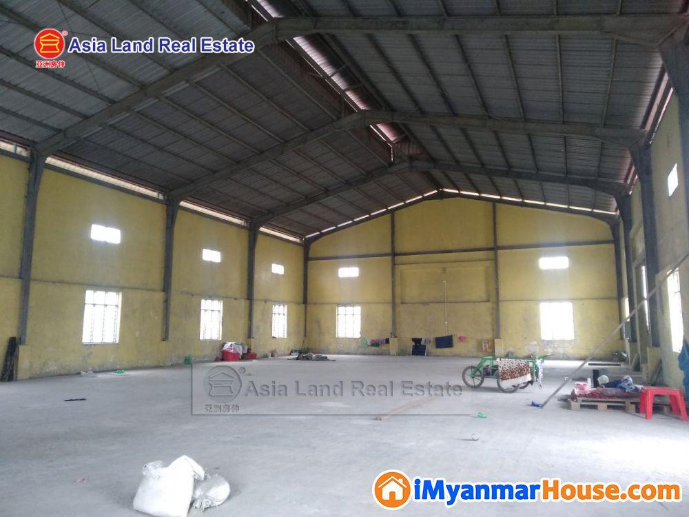 ဒဂုံဆိပ်ကမ်းစက်မှုဇုန်တွင် ဂိုဒေါင်ငှားရန်ရှိသည်၊ ဆက်သွယ်ရန် 095506734 - ငှါးရန် - ဒဂုံမြို့သစ် ဆိပ်ကမ်း (Dagon Myothit (Seikkan)) - ရန်ကုန်တိုင်းဒေသကြီး (Yangon Region) - 50 သိန်း (ကျပ်) - R-19161023 | iMyanmarHouse.com