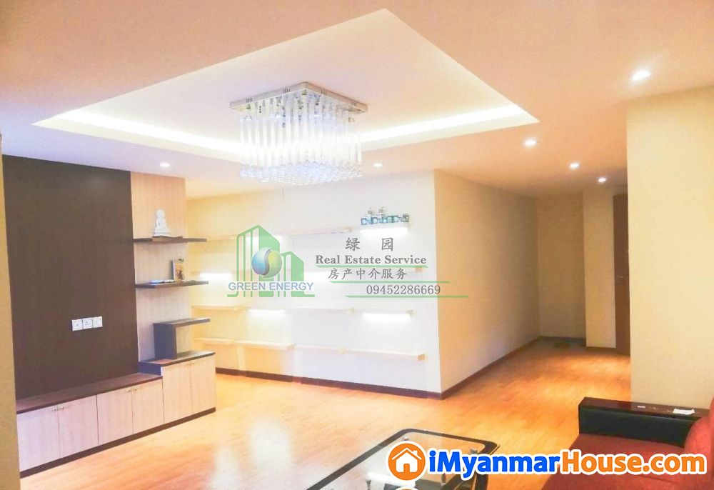 Condo For Rent in Kamaryut Township, Yangon Myanmar. - ငွါးရန္ - ကမာရြတ္ (Kamaryut) - ရန္ကုန္တိုင္းေဒသႀကီး (Yangon Region) - 8 သိန္း (က်ပ္) - R-18888364   iMyanmarHouse.com
