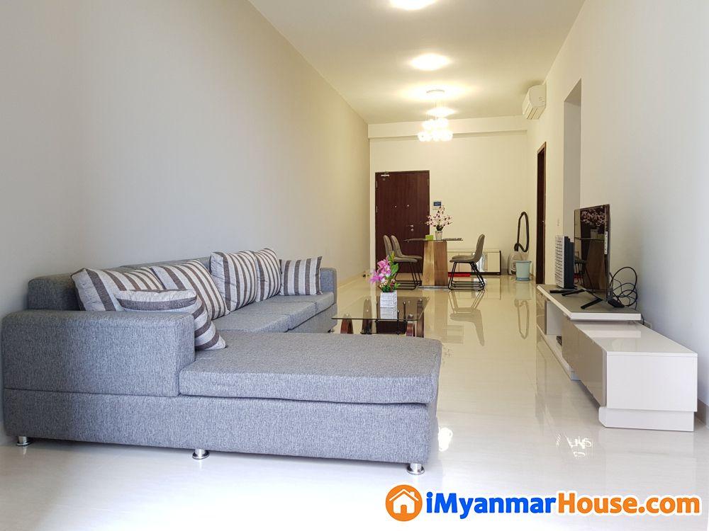 Kan Thar Yar Premium Condominium For Rent Owner Direct - ငှါးရန် - မင်္ဂလာတောင်ညွန့် (Mingalartaungnyunt) - ရန်ကုန်တိုင်းဒေသကြီး (Yangon Region) - $ 2,200 (အမေရိကန်ဒေါ်လာ) - R-19076100 | iMyanmarHouse.com
