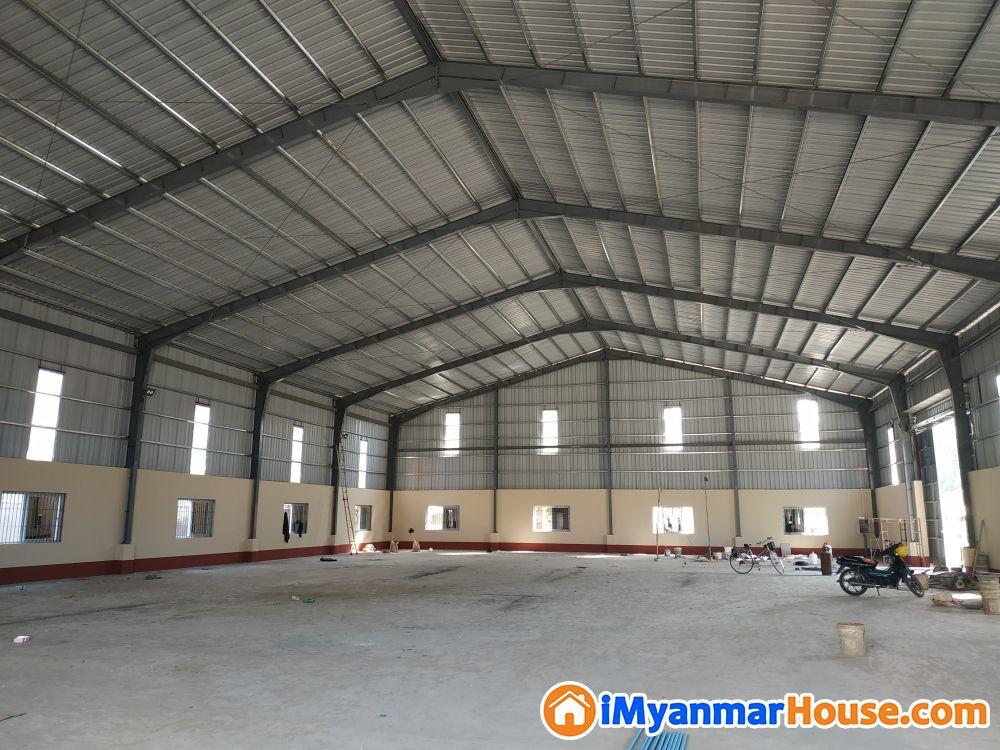 ♦ သာကေတ ရွှေပုဇွန်အနီး..အဆောက်ဦးအသစ်(76×120). .ငှားမည်..ပစ္စည်းထားရန်ကောင် - ငှါးရန် - သာကေတ (Thaketa) - ရန်ကုန်တိုင်းဒေသကြီး (Yangon Region) - 50 သိန်း (ကျပ်) - R-19162268   iMyanmarHouse.com
