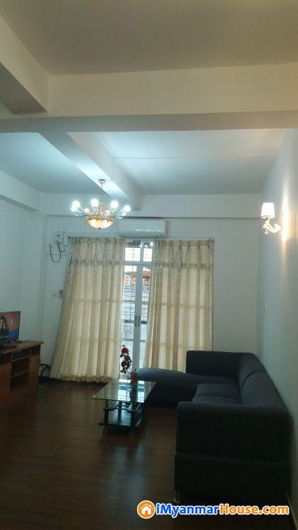 Rent for condo - ငှါးရန် - ဒဂုံ (Dagon) - ရန်ကုန်တိုင်းဒေသကြီး (Yangon Region) - $ 700 (အမေရိကန်ဒေါ်လာ) - R-19184060   iMyanmarHouse.com