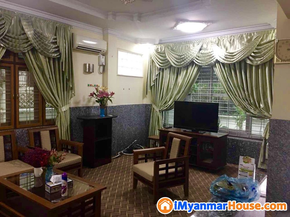 နှစ်ထပ်တိုက် နှင့် ခြံ ငှားမည် - ငှါးရန် - မရမ်းကုန်း (Mayangone) - ရန်ကုန်တိုင်းဒေသကြီး (Yangon Region) - 15 သိန်း (ကျပ်) - R-19230114   iMyanmarHouse.com