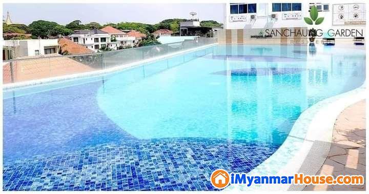 စမ်းချောင်းမြို့နယ် Sanchaung garden residence condo အခန်းလျှော့စျေးဖြင့်အမြန်ဌားမည် - ငှါးရန် - စမ်းချောင်း (Sanchaung) - ရန်ကုန်တိုင်းဒေသကြီး (Yangon Region) - 9 သိန်း (ကျပ်) - R-19327326 | iMyanmarHouse.com