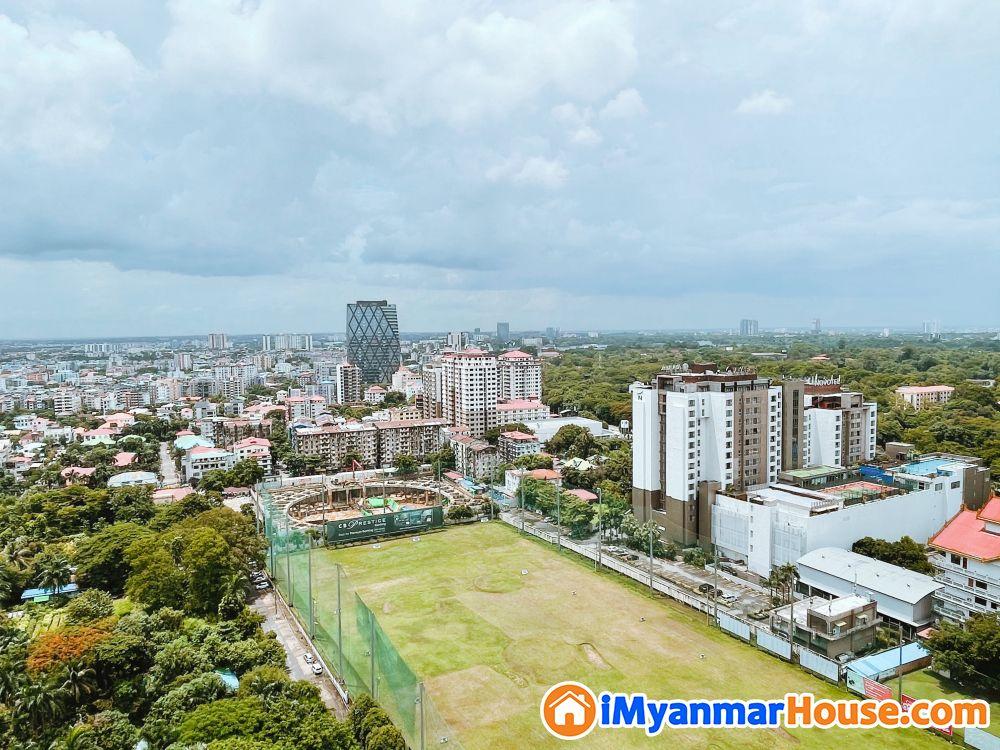 Crystal Residence 2 Bedroom High Floor River View - ငှါးရန် - ကမာရွတ် (Kamaryut) - ရန်ကုန်တိုင်းဒေသကြီး (Yangon Region) - $ 2,000 (အမေရိကန်ဒေါ်လာ) - R-19329147 | iMyanmarHouse.com