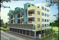 New Flats suitable for live and doing business on the Htuparyone Road, Tharkayta Township