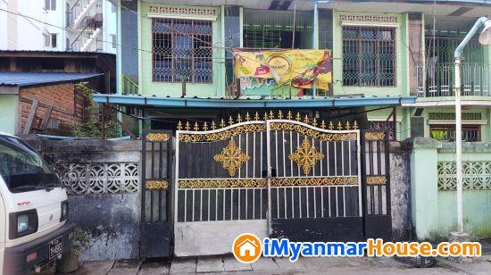 လုံးခြင်းအိမ်အမြန်ရောင်းမည်( ၂ထပ်တိုက်ခံ) - ရောင်းရန် - သာကေတ (Thaketa) - ရန်ကုန်တိုင်းဒေသကြီး (Yangon Region) - 1,200 သိန်း (ကျပ်) - S-8829288 | iMyanmarHouse.com