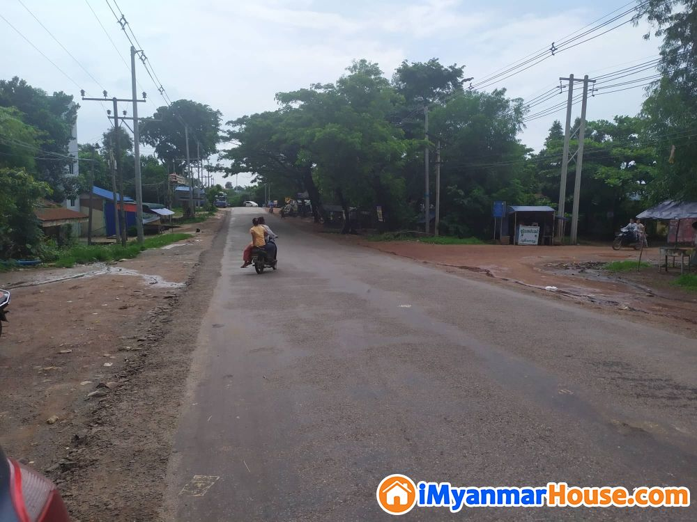 (SL6-001883),For Sale Land,Thanlyin Township တြင္ေျမကြက္ေရာင္းရန္ရွိသည္။