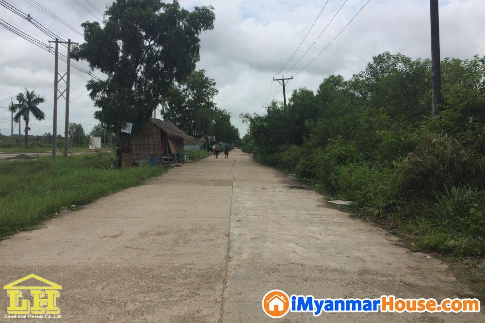 (2ဧက)အက်ယ္၊ သံလ်င္၊ သီလ၀ါစက္မႈဇုန္၊ ေနရာေကာင္း ေျမကြက္ေရာင္းရန္ရွိ - ေရာင္းရန္ - သံလ်င္ (Thanlyin) - ရန္ကုန္တိုင္းေဒသႀကီး (Yangon Region) - 10,000 သိန္း (က်ပ္) - S-6707745 | iMyanmarHouse.com