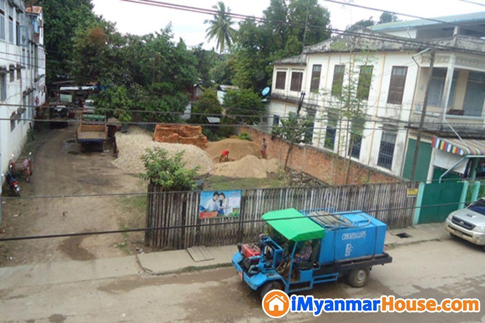 မြဝတီမြို့ရှိ မြေဧကကျယ်ရောင်းရန်