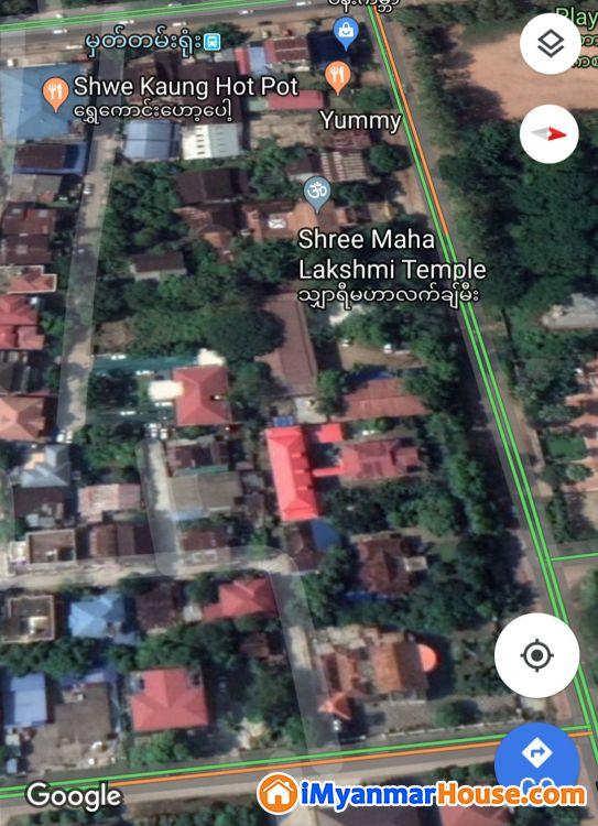 မာလာမြိုင်လမ်းမ မြေရောင်းမည် - ေရာင္းရန္ - ရန္ကင္း (Yankin) - ရန္ကုန္တိုင္းေဒသႀကီး (Yangon Region) - 8,600 သိန္း (က်ပ္) - S-7257199 | iMyanmarHouse.com