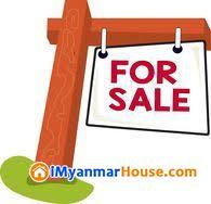 ညွိႏိႈင္းေစ်းျဖင့္ ပထမထပ္၊ တိုက္ခန္းအား ေရာင္းမည္။ - For Sale - လိႈင္ (Hlaing) - ရန္ကုန္တိုင္းေဒသႀကီး (Yangon Region) - 850 Lakh (Kyats) - S-7332325 | iMyanmarHouse.com