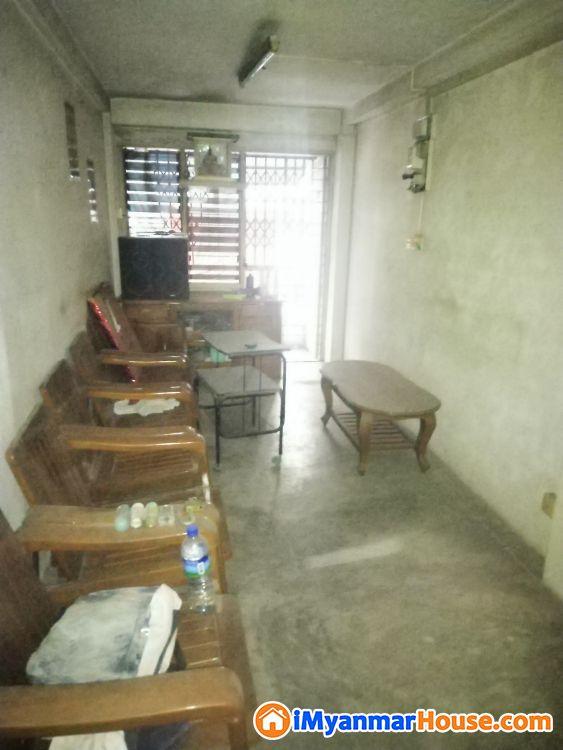 ပန်ဘဲတန်း တိုက်ခန်းအရောင်း - ေရာင္းရန္ - ပန္းပဲတန္း (Pabedan) - ရန္ကုန္တိုင္းေဒသႀကီး (Yangon Region) - 1,500 သိန္း (က်ပ္) - S-7373781 | iMyanmarHouse.com