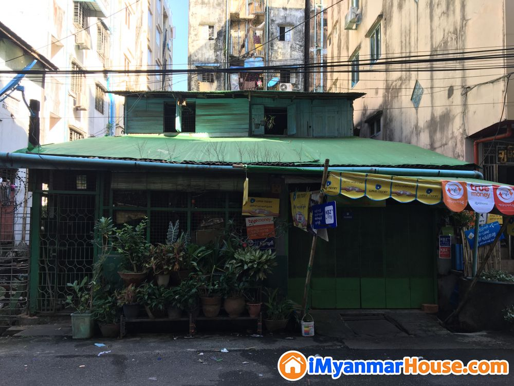 ကြည့်မြင်တိုင်ညစျေးအနီးအိမ်လုံးချင်းရောင်းမည် - ေရာင္းရန္ - ၾကည့္ျမင္တိုင္ (Kyeemyindaing) - ရန္ကုန္တိုင္းေဒသႀကီး (Yangon Region) - 4,500 သိန္း (က်ပ္) - S-8671941 | iMyanmarHouse.com