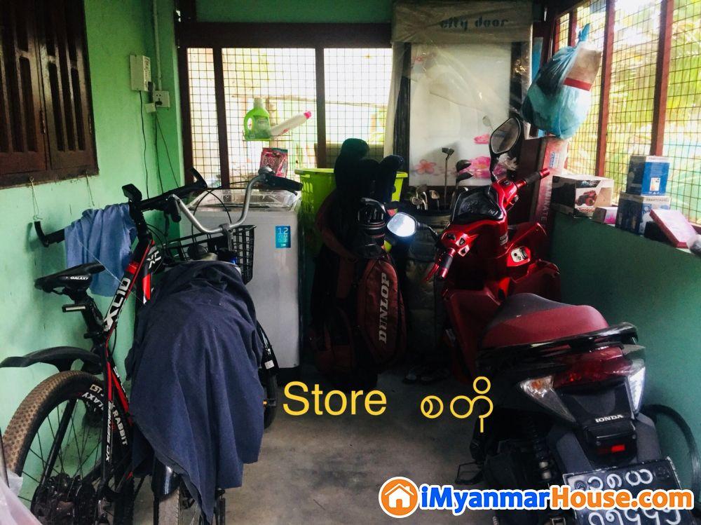 မင်္ဂလာဒုံမြို့နယ် ထောက်ကြန့် လုံးချင်း (၁) ထပ်လုံးချင်းတိုက်အိမ် အရောင်း