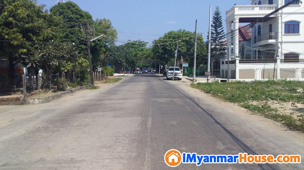 (60'x80')အက်ယ္၊ သဃၤန္းကၽြန္း၊ ေတာင္ထိပ္ပန္းလမ္းမ ေပၚ ေျမက ြက္ေရာင္းရန္ရွိသည္။ - ေရာင္းရန္ - သဃၤန္းကၽြန္း (Thingangyun) - ရန္ကုန္တိုင္းေဒသႀကီး (Yangon Region) - 6,600 သိန္း (က်ပ္) - S-7567205 | iMyanmarHouse.com