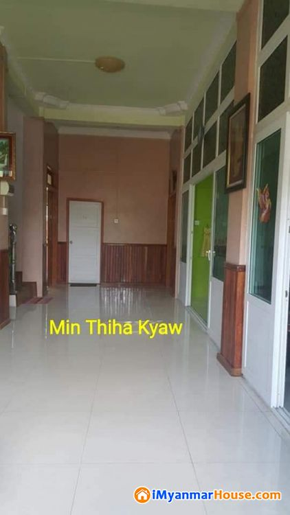 🏡အိမ္ေရာင္းရန္႐ွိသည္။🏡 - ရောင်းရန် - ပုလဲမြို့သစ် (Palae Myothit) - ရန်ကုန်တိုင်းဒေသကြီး (Yangon Region) - 4,500 သိန်း (ကျပ်) - S-8296914 | iMyanmarHouse.com