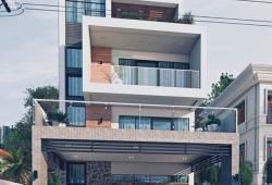 (50'x60')အကျယ်၊ ဗိုလ်တထောင်ဘုရားလမ်းမပေါ်၊ စီးပွားရေးလုပ်ရန်နေရာကောင်း လုံးချင်းအိမ် 3RC...
