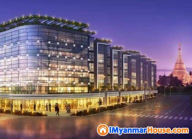စျေးတန်ကွန်ဒိုအခန်းလေး အမြန်ရောင်းမည် (ဗဟန်း) (Near Market place).( Coner of Damazayti street)