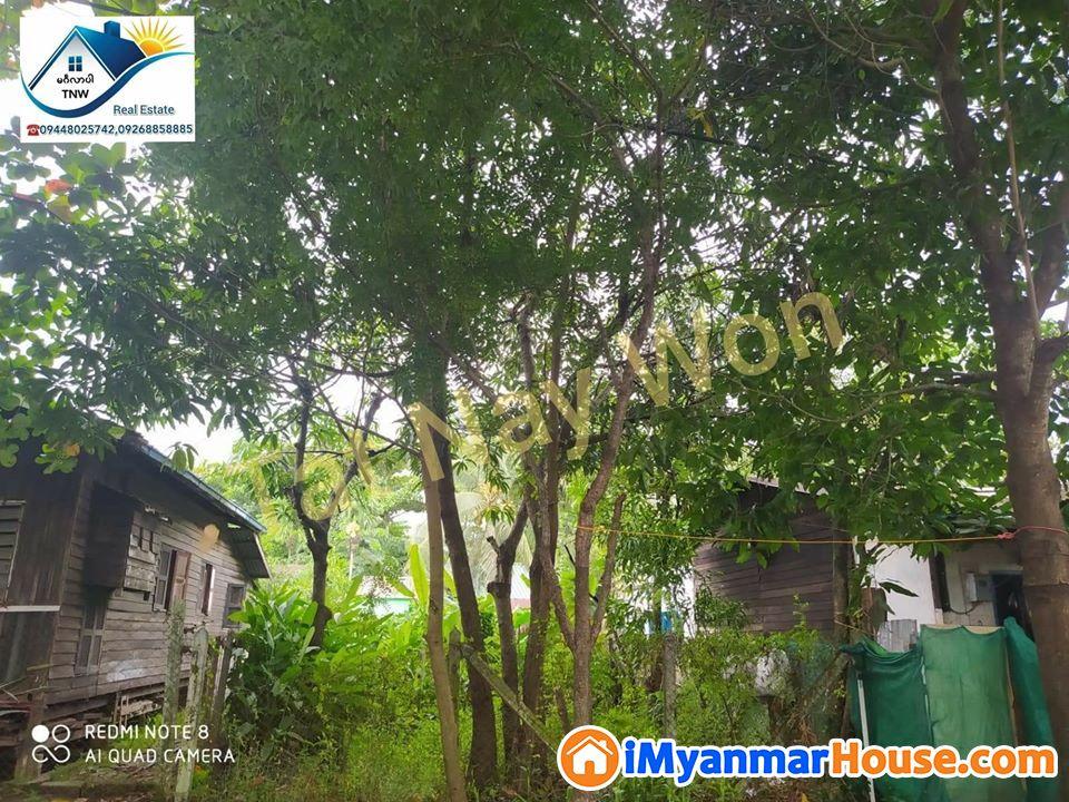 ရန်ကုန်မြို့ မြောက်ဒဂုံမြို့နယ် (50) ရပ်ကွက်ရှိ ပေ၄၀×ပေ၆၀အကျယ်အဝန်းရှိသော မြေသီးသန့် အရောင်းလေးနဲ့မိတ်ဆက်ပေးချင်ပါတယ်ရှင်......