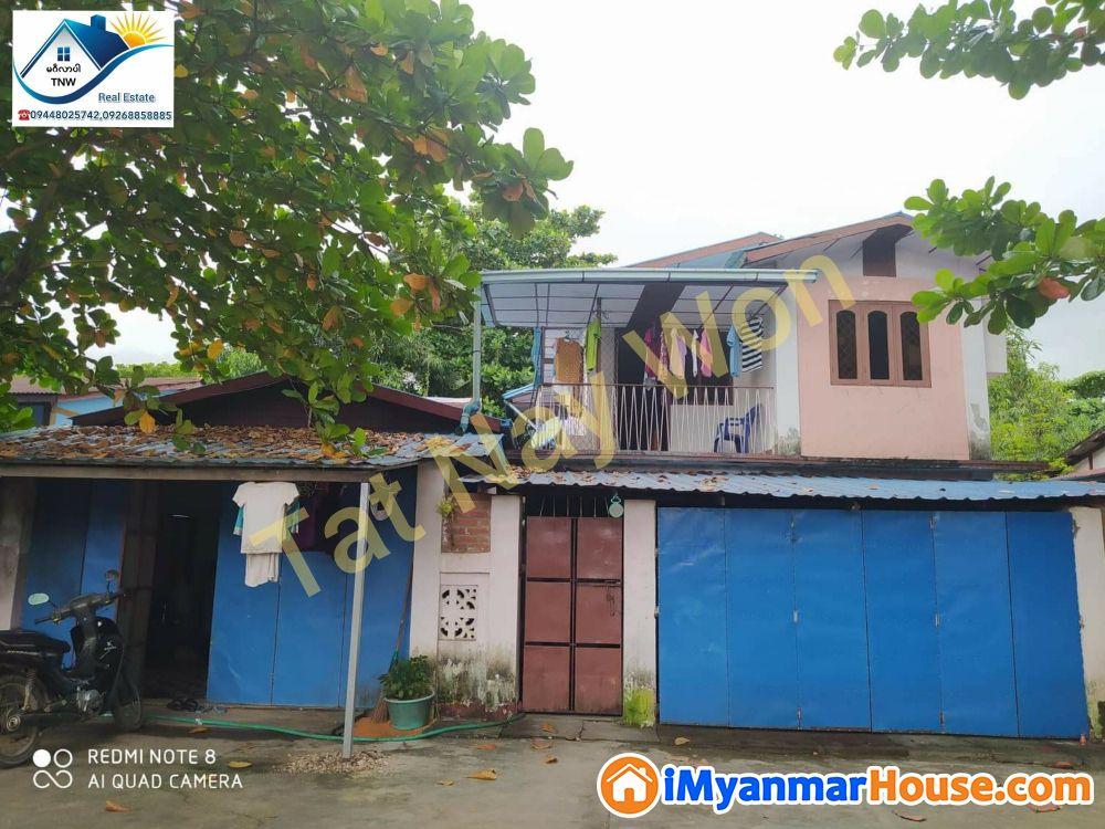ရန်ကုန်မြို့ မြောက်ဒဂုံမြို့နယ် (50) ရပ်ကွက်ရှိ ပေ၄၀×ပေ၆၀အကျယ်အဝန်းရှိသော နှစ်ထပ်တိုက် အရောင်းလေးနဲ့မိတ်ဆက်ပေးချင်ပါတယ်ရှင်......