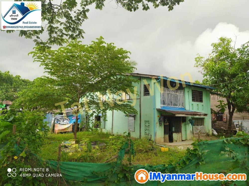 ရန်ကုန်မြို့ မြောက်ဒဂုံမြို့နယ် (50) ရပ်ကွက်ရှိ ပေ၅၀×ပေ၆၀အကျယ်အဝန်းရှိသော ထောင့်ကွက်ရှိ နှစ်ထပ်တိုက် အရောင်းလေးနဲ့မိတ်ဆက်ပေးချင်ပါတယ်ရှင်......