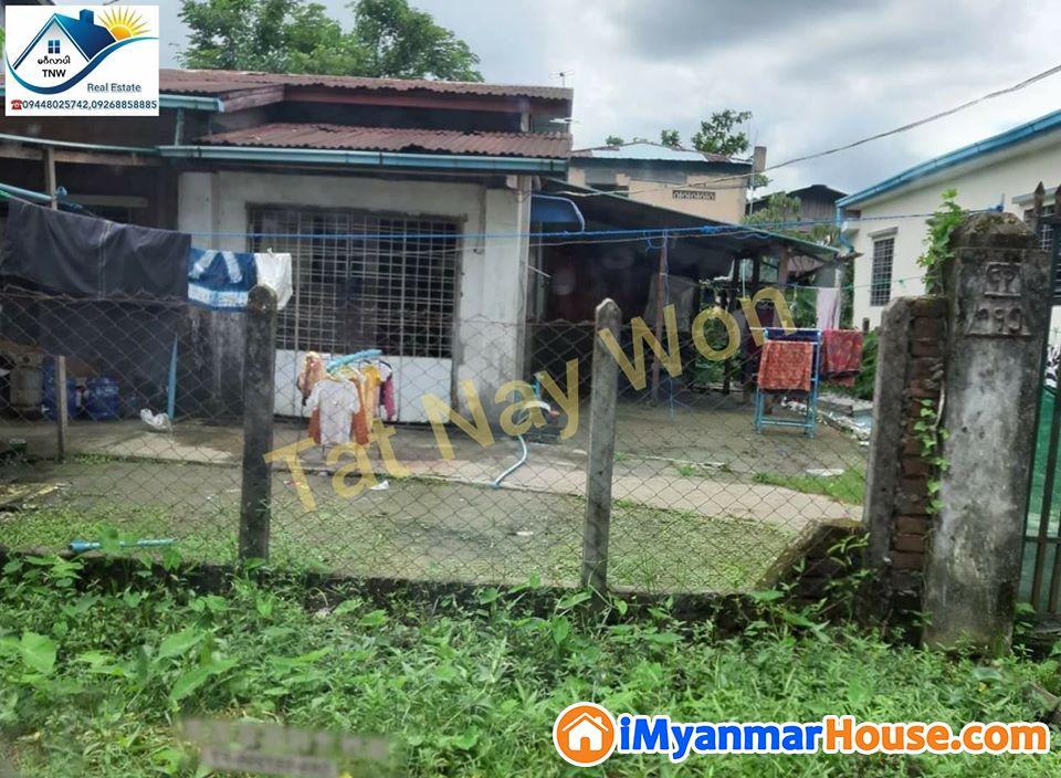 ရန်ကုန်မြို့ မြောက်ဒဂုံမြို့နယ် (43) ရပ်ကွက်ရှိ ပေ၄၀×ပေ၆၀အကျယ်အဝန်းရှိသော တစ်ထပ်လုံးချင်းအိမ်အရောင်းလေးနဲ့မိတ်ဆက်ပေးချင်ပါတယ်ရှင်......