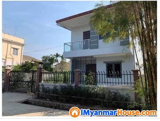 ေျမာက္ဒဂံု၊ တိုးခဲ့ (33)ရပ္ကြက္ရိွ အသင့္ေန RC_2ထပ္ လံုးခ်င္းအိမ္ ေရာင္းမည္ - ရောင်းရန် - ဒဂုံမြို့သစ် မြောက်ပိုင်း (Dagon Myothit (North)) - ရန်ကုန်တိုင်းဒေသကြီး (Yangon Region) - 2,400 သိန်း (ကျပ်) - S-9070836   iMyanmarHouse.com