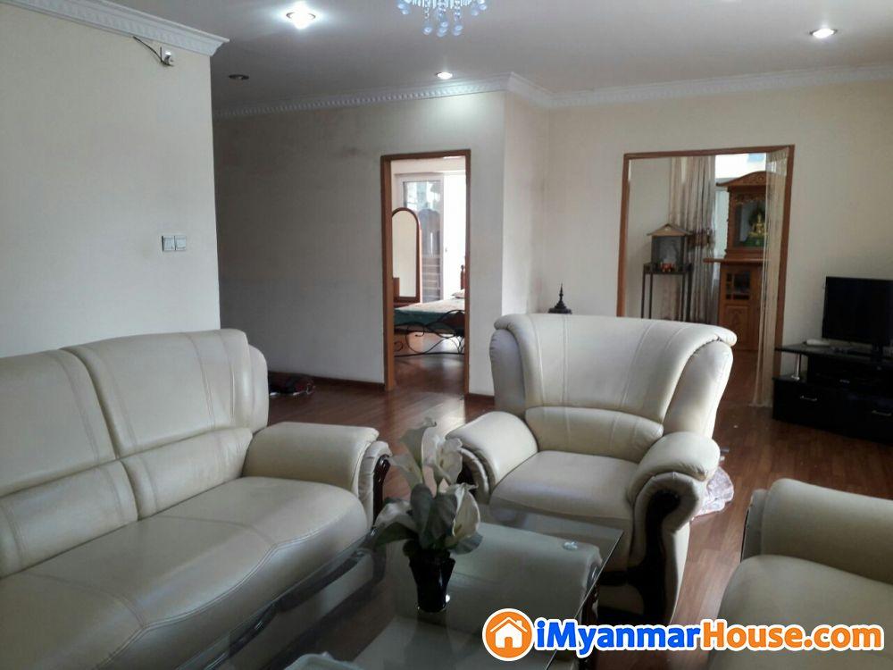ကမာရွတ် မြရိပ်ကွန်ဒိုအမြန်ရောင်းမည် - ေရာင္းရန္ - ကမာရြတ္ (Kamaryut) - ရန္ကုန္တိုင္းေဒသႀကီး (Yangon Region) - 1,650 သိန္း (က်ပ္) - S-8710063 | iMyanmarHouse.com