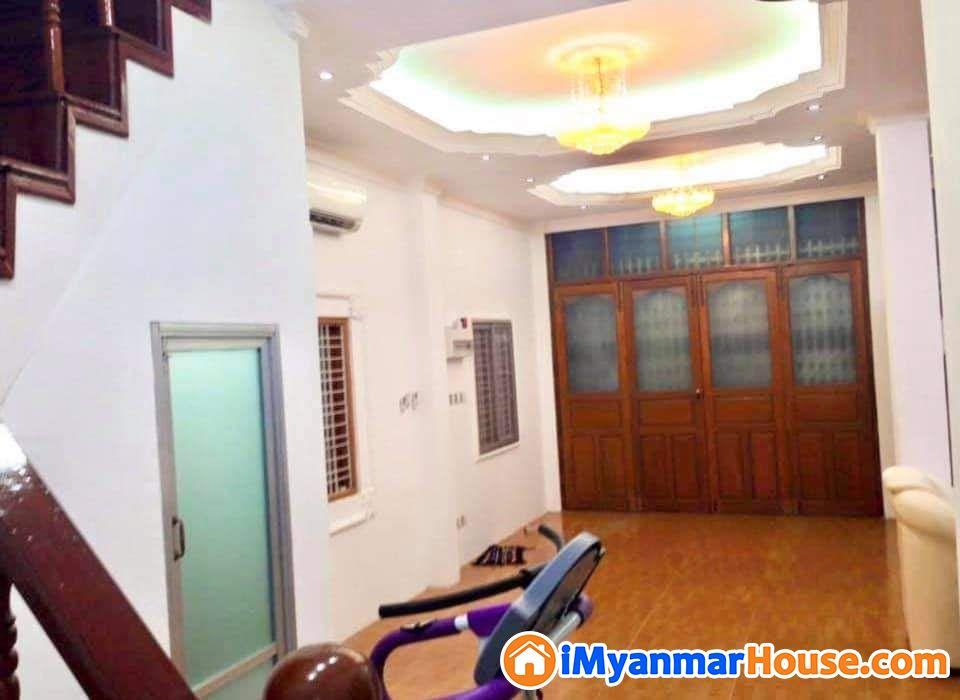 စမ္းေခ်ာင္းၿမိဳ႕နယ္ ကြၽန္းေတာလမ္းအနီး႐ွိလံုးခ်င္း - ေရာင္းရန္ - စမ္းေခ်ာင္း (Sanchaung) - ရန္ကုန္တိုင္းေဒသႀကီး (Yangon Region) - 4,990 သိန္း (က်ပ္) - S-8722617 | iMyanmarHouse.com