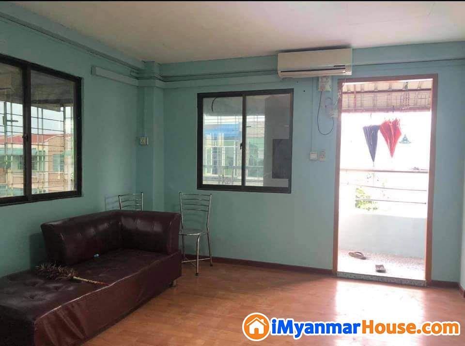 မရမ္းကုန္းၿမိဳ႕နယ္ ေအာင္သေျပလမ္းတိုက္ခန္း - ေရာင္းရန္ - မရမ္းကုန္း (Mayangone) - ရန္ကုန္တိုင္းေဒသႀကီး (Yangon Region) - 421 သိန္း (က်ပ္) - S-8722707 | iMyanmarHouse.com