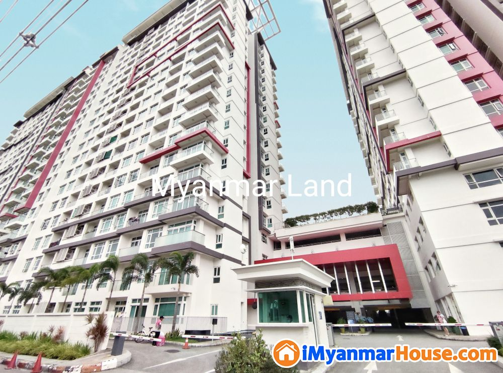 GEMS Condo 1505 sqft - ေရာင္းရန္ - လိႈင္ (Hlaing) - ရန္ကုန္တိုင္းေဒသႀကီး (Yangon Region) - 2,750 သိန္း (က်ပ္) - S-8722759 | iMyanmarHouse.com