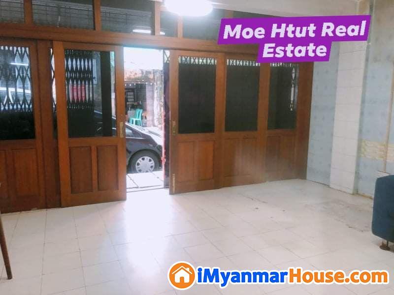 ☃️☃️လမ်းမတော်မြို့နယ် နေရာကောင်း မြေညီထပ်တိုက်ခန်း ရောင်းရန်ရှိပါသည်။☃️☃️ သွားရေးလာရေး အလွန်အဆင်ပြေပြီး Junction Mawtin,Shwe Pu Zun အနီးနေရာကောင်း တစ်ခု🌟🌟 - ရောင်းရန် - လမ်းမတော် (Lanmadaw) - ရန်ကုန်တိုင်းဒေသကြီး (Yangon Region) - 2,900 သိန်း (ကျပ်) - S-8795002 | iMyanmarHouse.com