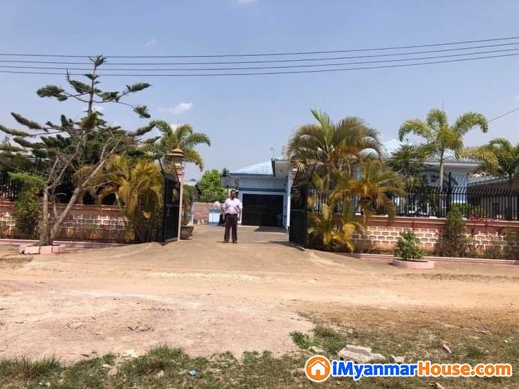 ပြင်ဦးလွင်မြို့တွင် အိမ်ပါမြေကွက်ကျယ်ရောင်းမည်။ - ရောင်းရန် - ပြင်ဦးလွင် (Pyin Oo Lwin) - မန္တလေးတိုင်းဒေသကြီး (Mandalay Region) - 2,800 သိန်း (ကျပ်) - S-8863100 | iMyanmarHouse.com
