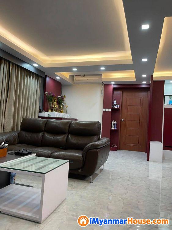(1200sqft)အကျယ်၊ ဒဂုံဆိပ်ကမ်း၊ ရတနာနှင်းဆီကွန်ဒို၊ ပြင်ပြီး အသင့်နေ ကွန်ဒိုရောင်းရန်ရှိ - ရောင်းရန် - ဒဂုံမြို့သစ် ဆိပ်ကမ်း (Dagon Myothit (Seikkan)) - ရန်ကုန်တိုင်းဒေသကြီး (Yangon Region) - 1,450 သိန်း (ကျပ်) - S-9083820 | iMyanmarHouse.com