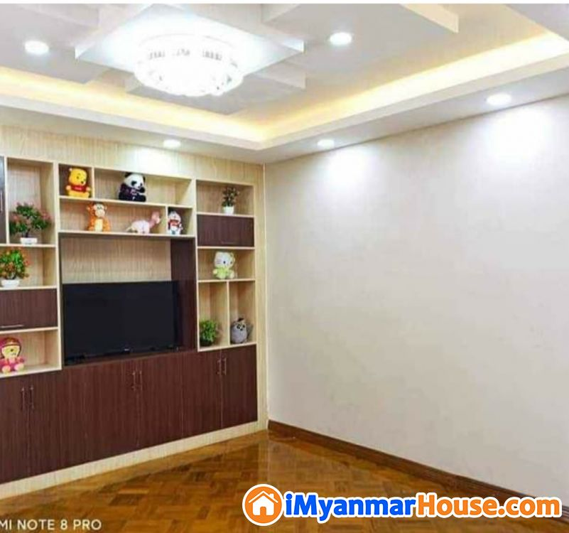 စမ္းေခ်ာင္း ျပင္ဆင္ၿပီး တိုက္ခန္းအေရာင္း - ရောင်းရန် - စမ်းချောင်း (Sanchaung) - ရန်ကုန်တိုင်းဒေသကြီး (Yangon Region) - 650 သိန်း (ကျပ်) - S-9091576 | iMyanmarHouse.com