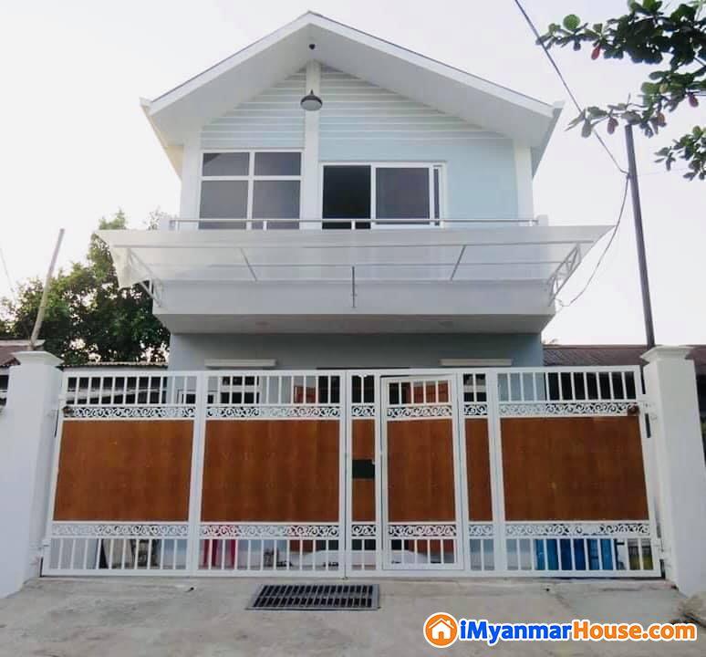 အသင့်နေ အိမ်လုံးချင်းသစ် ရောင်း ပါမည် - ရောင်းရန် - မြောက်ဥက္ကလာပ (North Okkalapa) - ရန်ကုန်တိုင်းဒေသကြီး (Yangon Region) - 1,100 သိန်း (ကျပ်) - S-9092298 | iMyanmarHouse.com