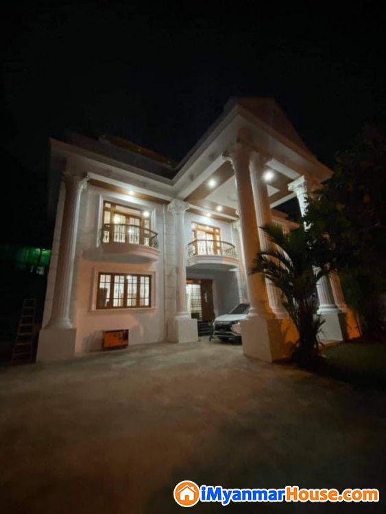 သံလွင်လမ်း (ဝင်ဒါမီယာ)အဆင့်မြင့်ပြင်ဆင်ပြီးလုံးချင်းတိုက်သစ် ရောင်းမည် - For Sale - ကမာရွတ် (Kamaryut) - ရန်ကုန်တိုင်းဒေသကြီး (Yangon Region) - 25,000 Lakh (Kyats) - S-9097881 | iMyanmarHouse.com