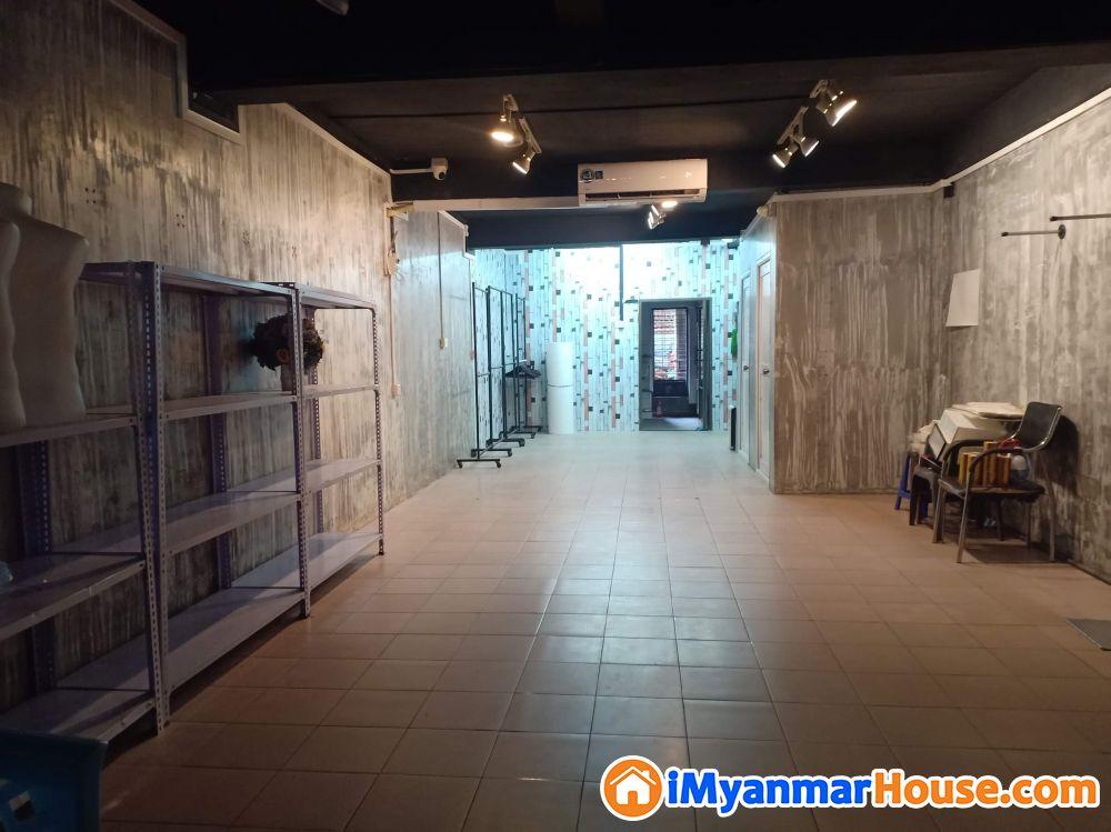 တာမွေ လမ်းမတန်း အခန်းကျယ်မြေညီ အရောင်း (Bank Transfer ရပါမည်) - ရောင်းရန် - တာမွေ (Tamwe) - ရန်ကုန်တိုင်းဒေသကြီး (Yangon Region) - 2,800 သိန်း (ကျပ်) - S-9113761 | iMyanmarHouse.com