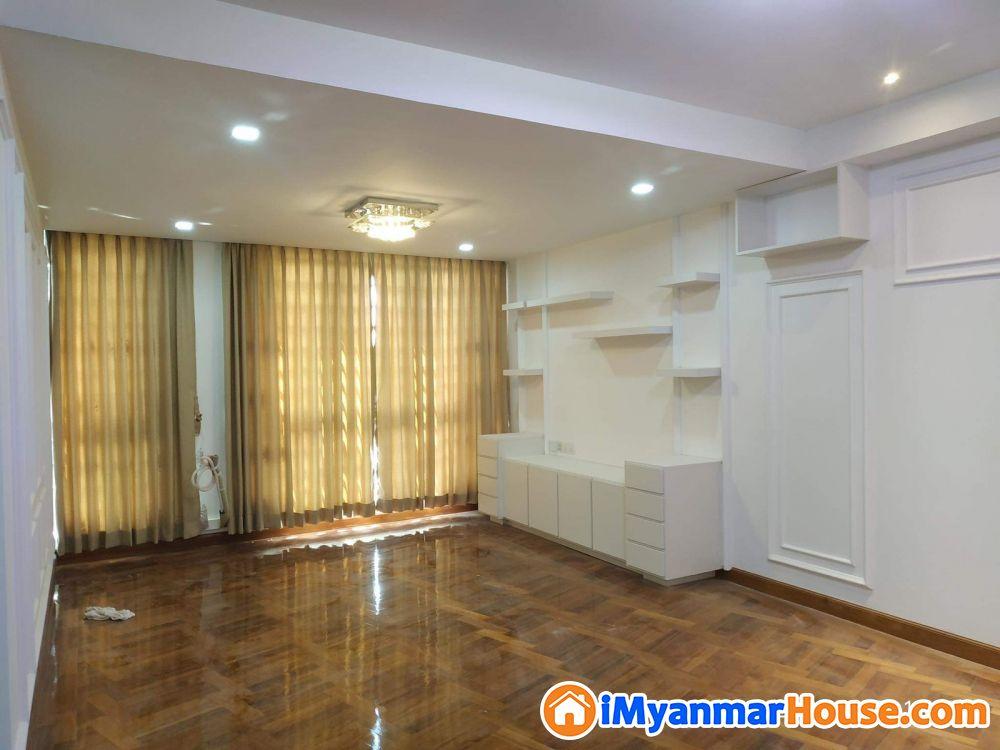 Star Villa(Sunian Park)/ရန်ကင်းရှိ Condo အသစ် ထိပ်ဆုံး 7လွှာ အခန်းအဆင့်မြှင့် ပြင်ဆင်ပီး BBC to BCC bank transfer လက်ခံသည် - ရောင်းရန် - ရန်ကင်း (Yankin) - ရန်ကုန်တိုင်းဒေသကြီး (Yangon Region) - 3,200 သိန်း (ကျပ်) - S-9156525 | iMyanmarHouse.com