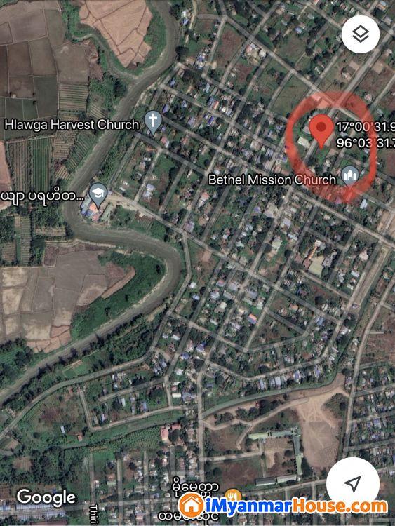 Bank Transfer ဖြင့် ဝယ်ယူနိုင်ပါသည်။ ရွှေပြည်သာ မြို့နယ်၊ မှော်ဘီလမ်းမပေါ် ရှိ၊ နေရာကောင်း စျေးတန် ( ၄၀' x ၆၀' ) ၃ ကွက်တွဲမြေကွက် ရောင်းရန်ရှိသည်။ - ရောင်းရန် - ရွှေပြည်သာ (Shwepyithar) - ရန်ကုန်တိုင်းဒေသကြီး (Yangon Region) - 900 သိန်း (ကျပ်) - S-9167746 | iMyanmarHouse.com